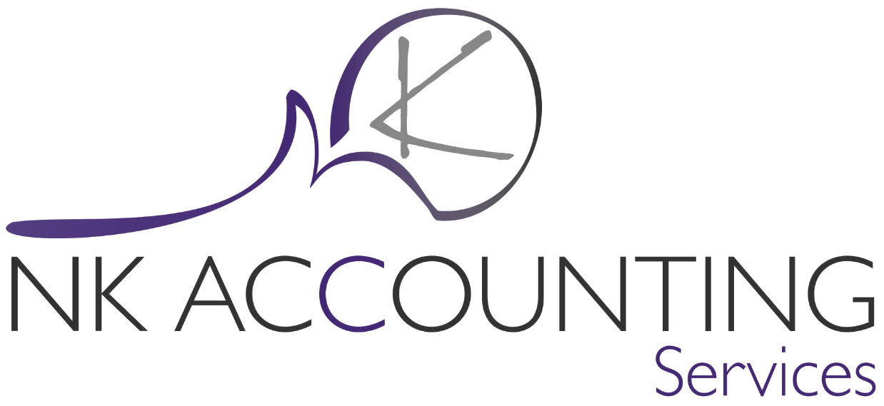 NK Accounting Services Business Logo